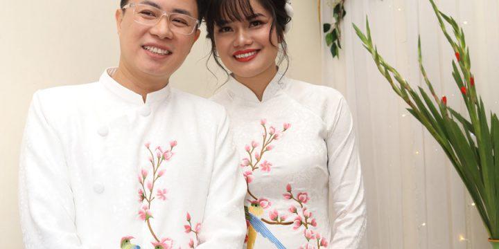 MC Lê Anh đám cưới với trò cũ